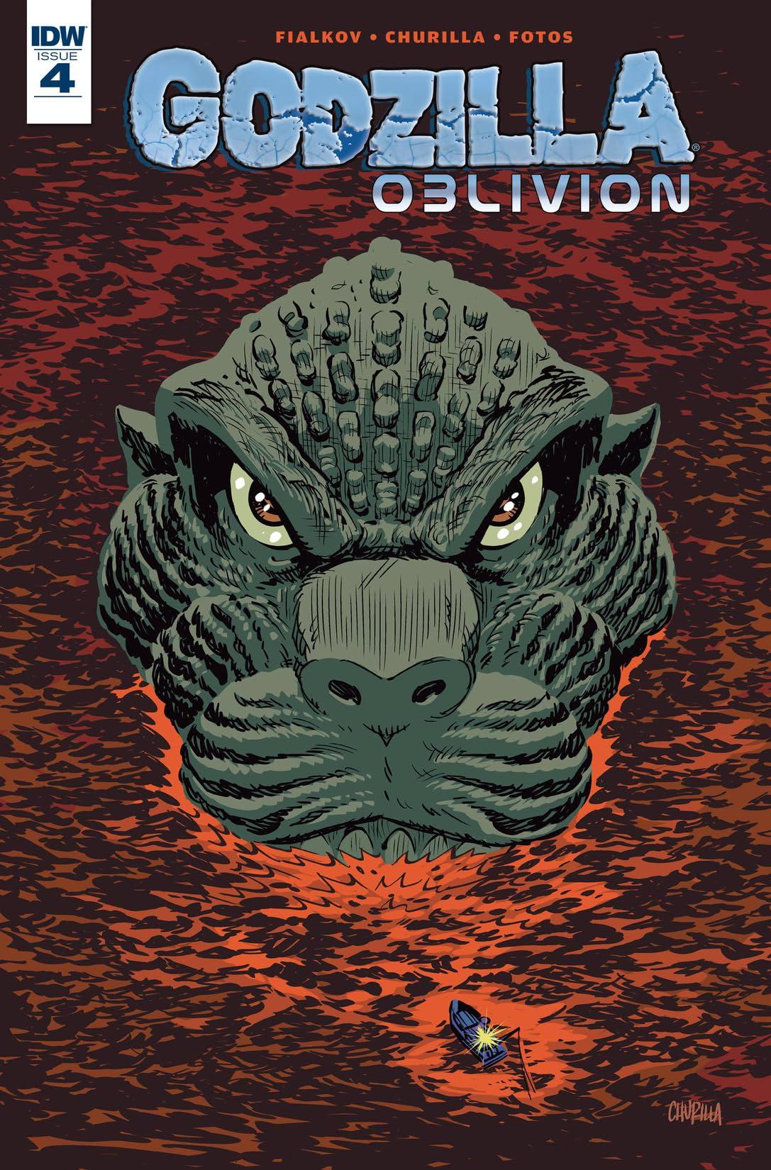 Godzilla: Oblivion #4 (of 5)