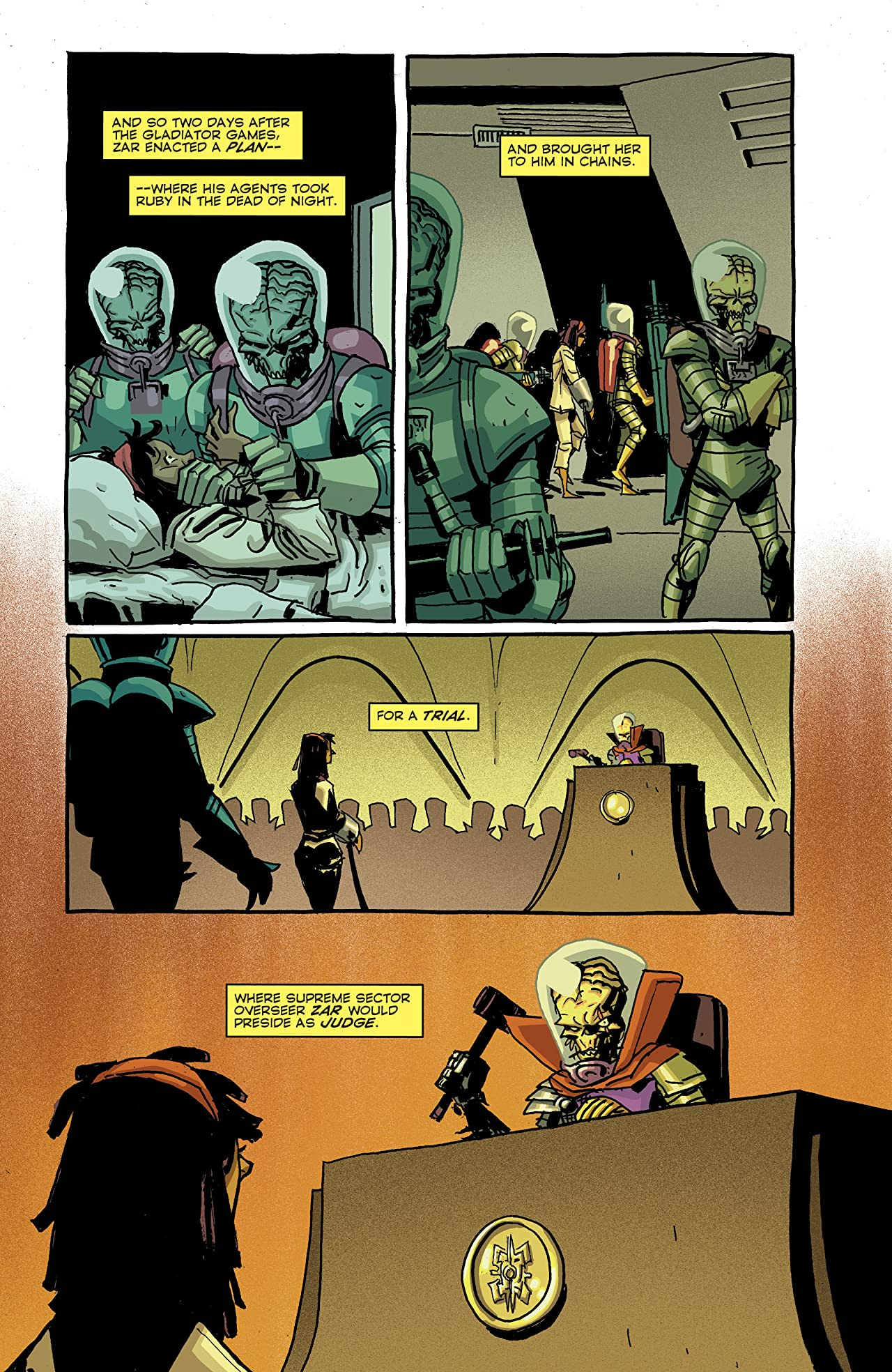 Mars Attacks: Occupation #4 (of 5)