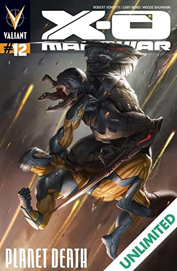 X-O Manowar (2012- ) #12: Digital Exclusives Edition