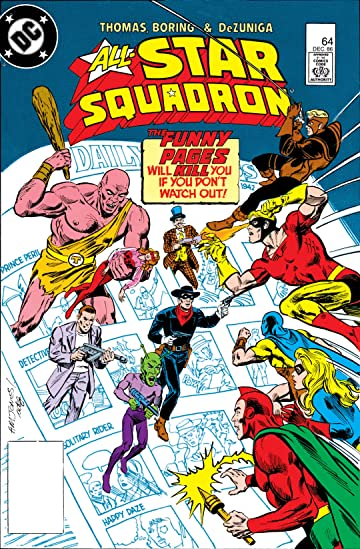 All-Star Squadron (1981-1987) #64