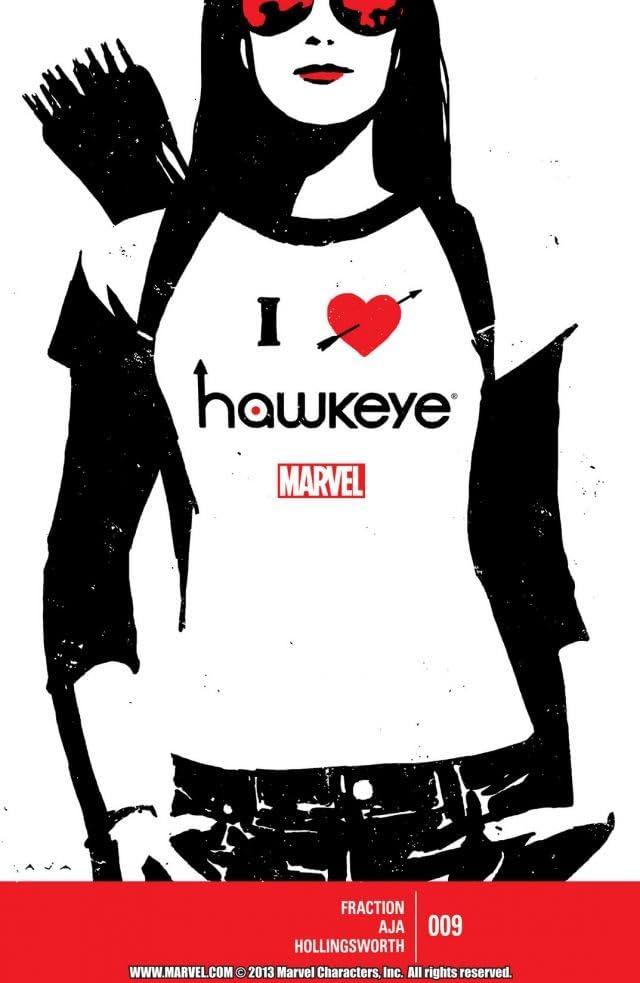Hawkeye (2012-2015) #9
