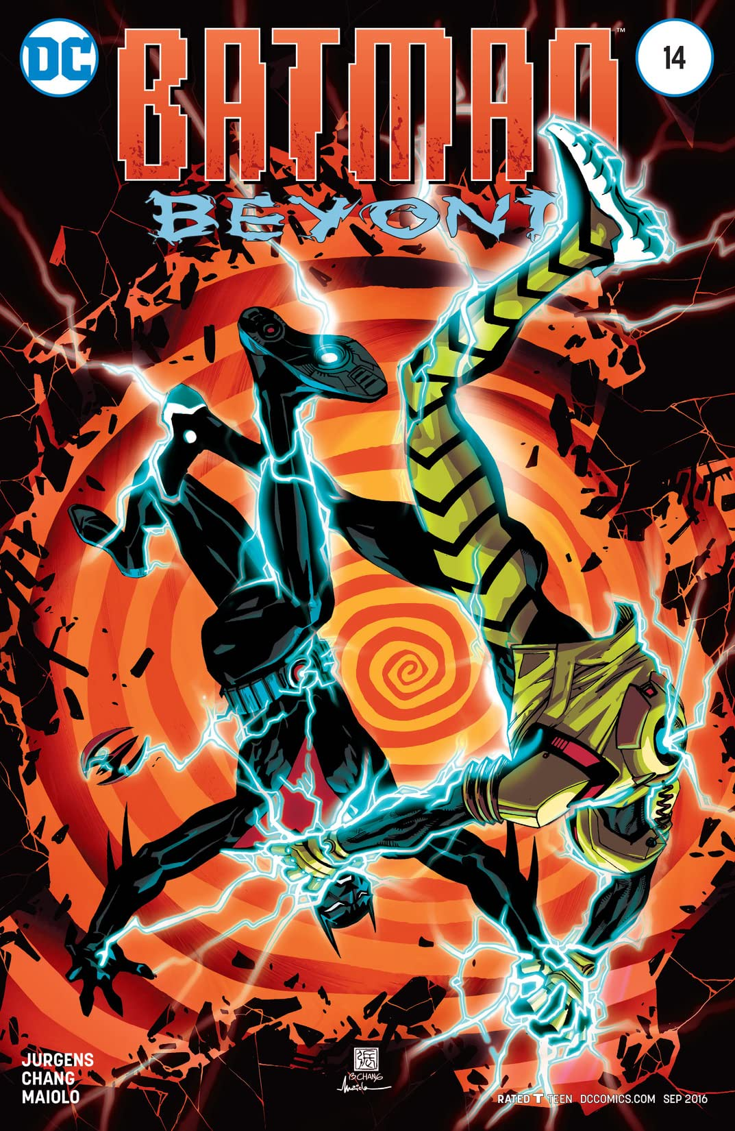 Batman Beyond (2015-2016) #14
