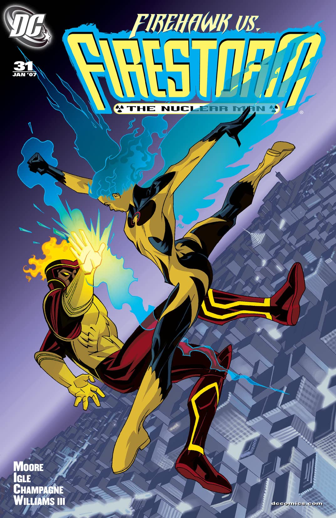 Firestorm: The Nuclear Man (2004-2007) #31