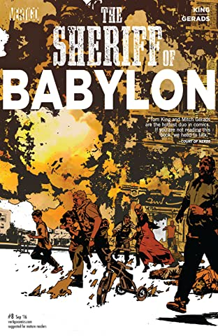 Sheriff of Babylon (2015-2016) #8