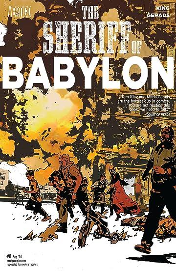 Sheriff of Babylon (2015-2016) #8