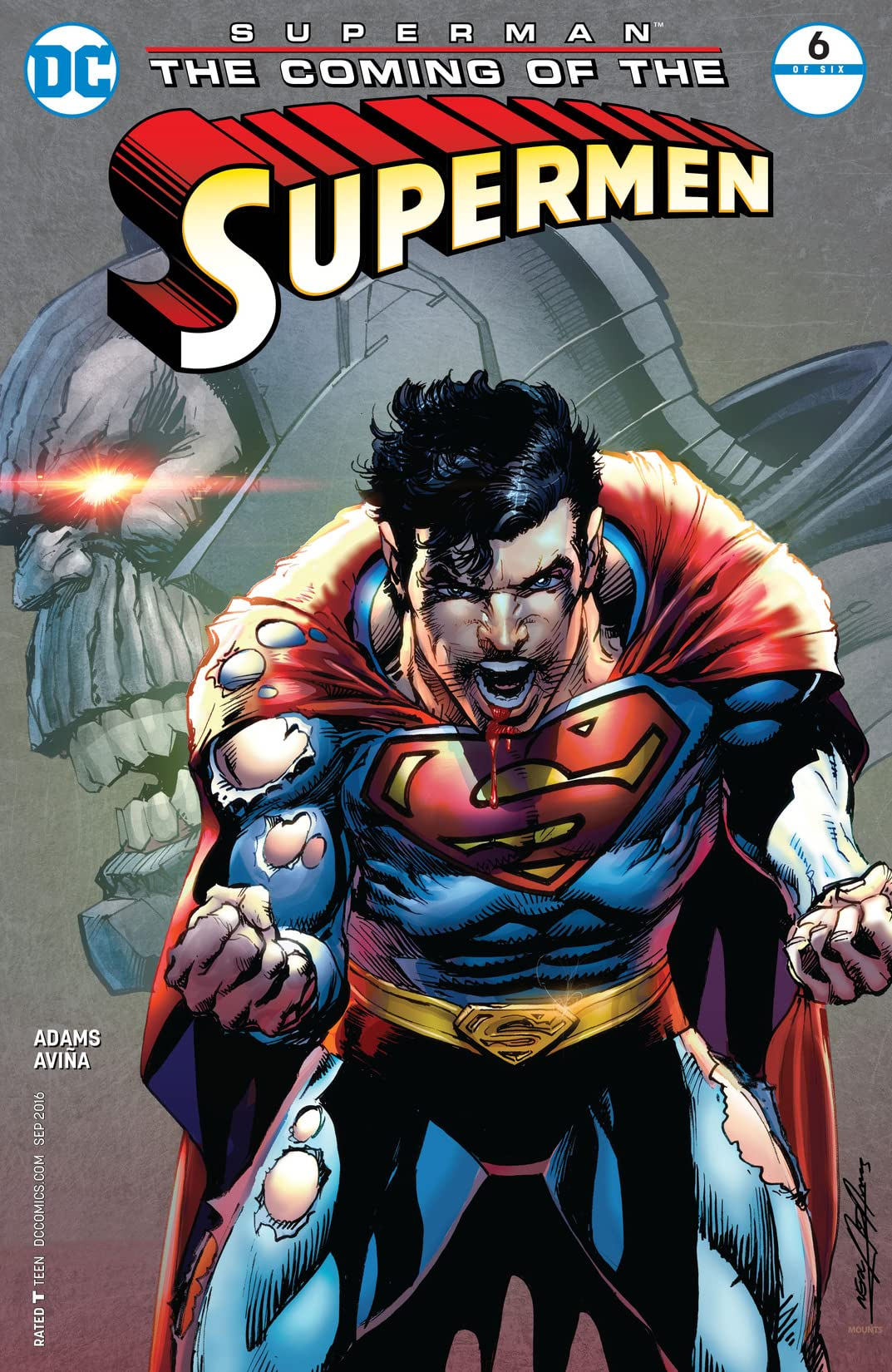 Superman: The Coming of the Supermen (2016) #6