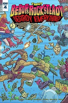 Teenage Mutant Ninja Turtles: Bebop & Rocksteady Destroy Everything #4