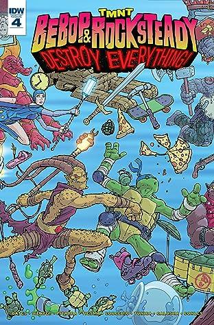 Teenage Mutant Ninja Turtles: Bebop & Rocksteady Destroy Everything No.4