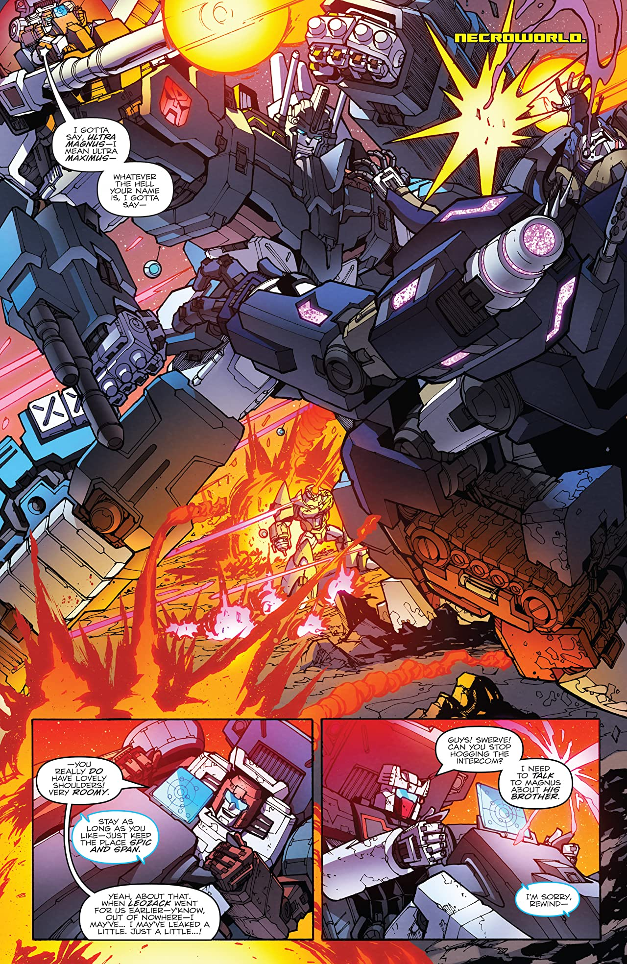 Transformers: More Than Meets the Eye (2011-2016) #54