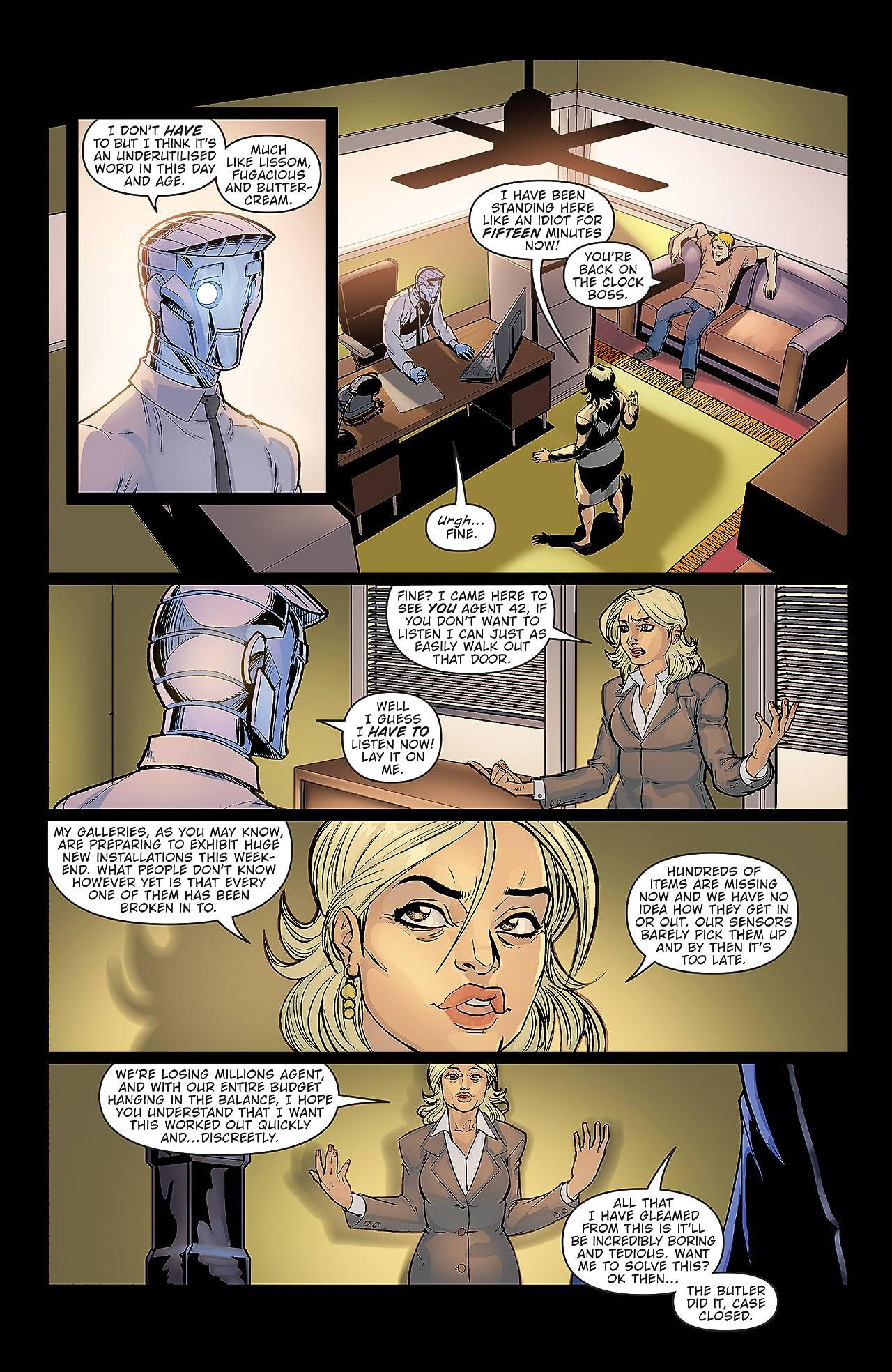 Agent 42 #2 (of 4)
