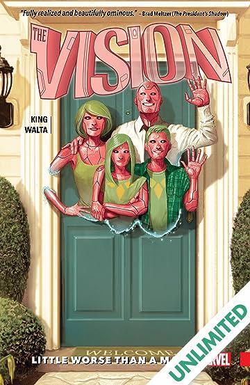 Vision Vol  1: Little Worse Than A Man - Comics by comiXology
