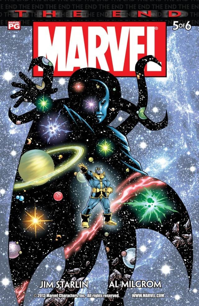 Marvel Universe: The End #5 (of 6)