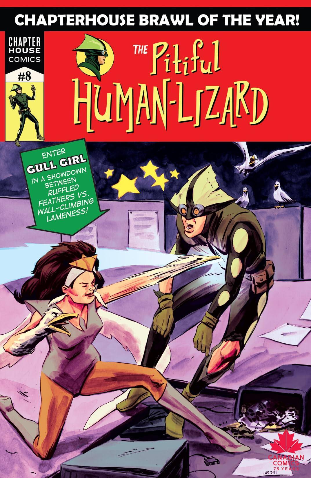 Pitiful Human-Lizard #8