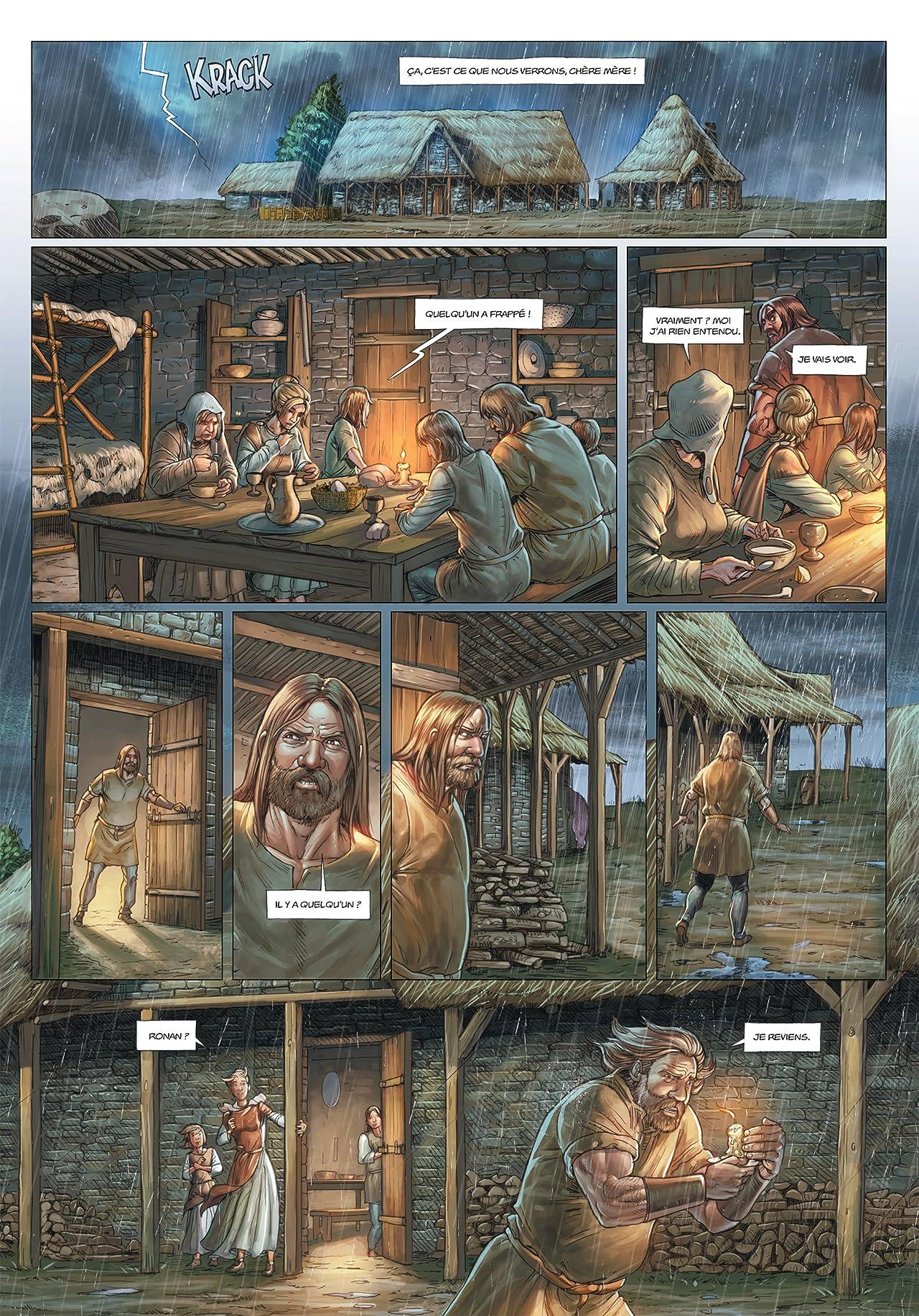 Les Druides Tome 7: Les Disparus de Cornouailles