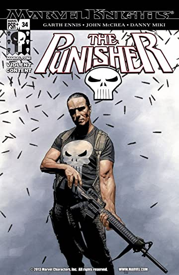 The Punisher (2001-2003) #34