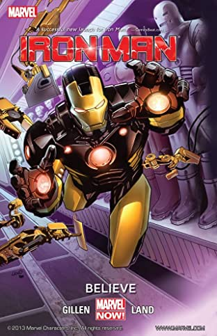 Iron Man Tome 1: Believe