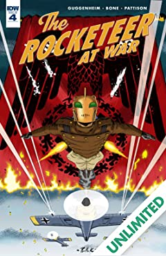 The Rocketeer At War! #4 (of 4)