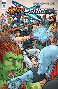 Street Fighter x G.I. Joe #5 (of 6)