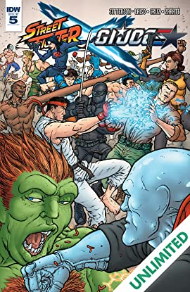 Street Fighter x G.I. Joe #5 (of 6)