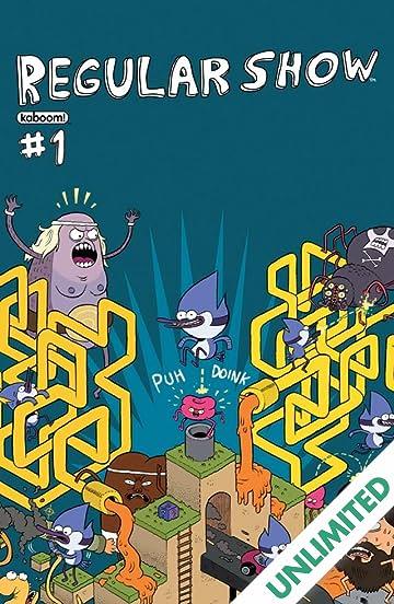 regular show 1 comics by comixology