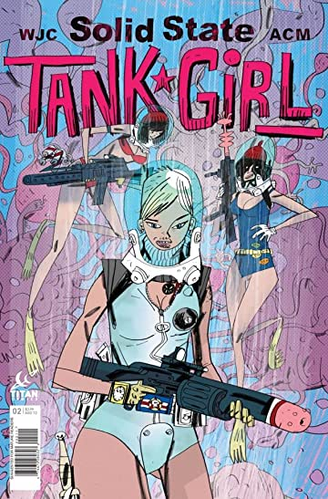 Solid State Tank Girl #2 (of 4)