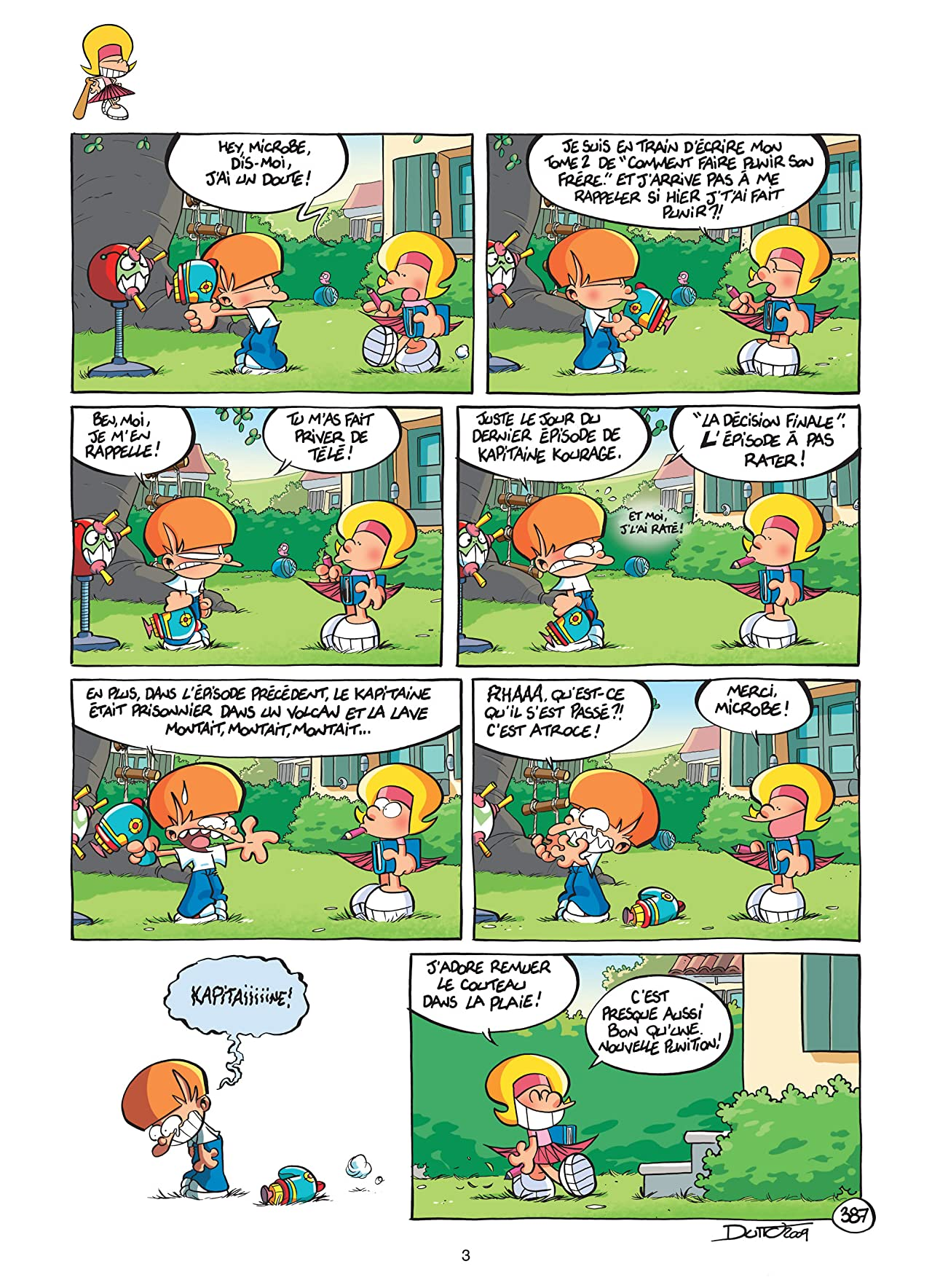 Les P'tits Diables Vol. 10: Comment dompter son frère !!!