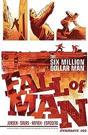 The Six Million Dollar Man: Fall of Man #3: Digital Exclusive Edition