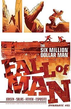 The Six Million Dollar Man: Fall of Man No.3: Digital Exclusive Edition