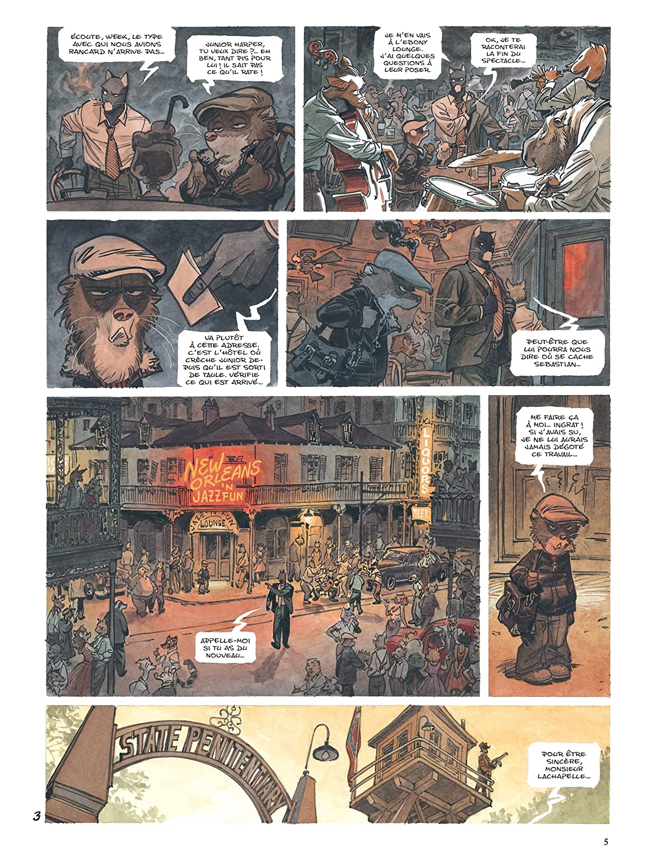 Blacksad Vol. 4: Enfer