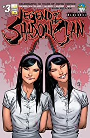 Legend of The Shadow Clan #3 (of 5)