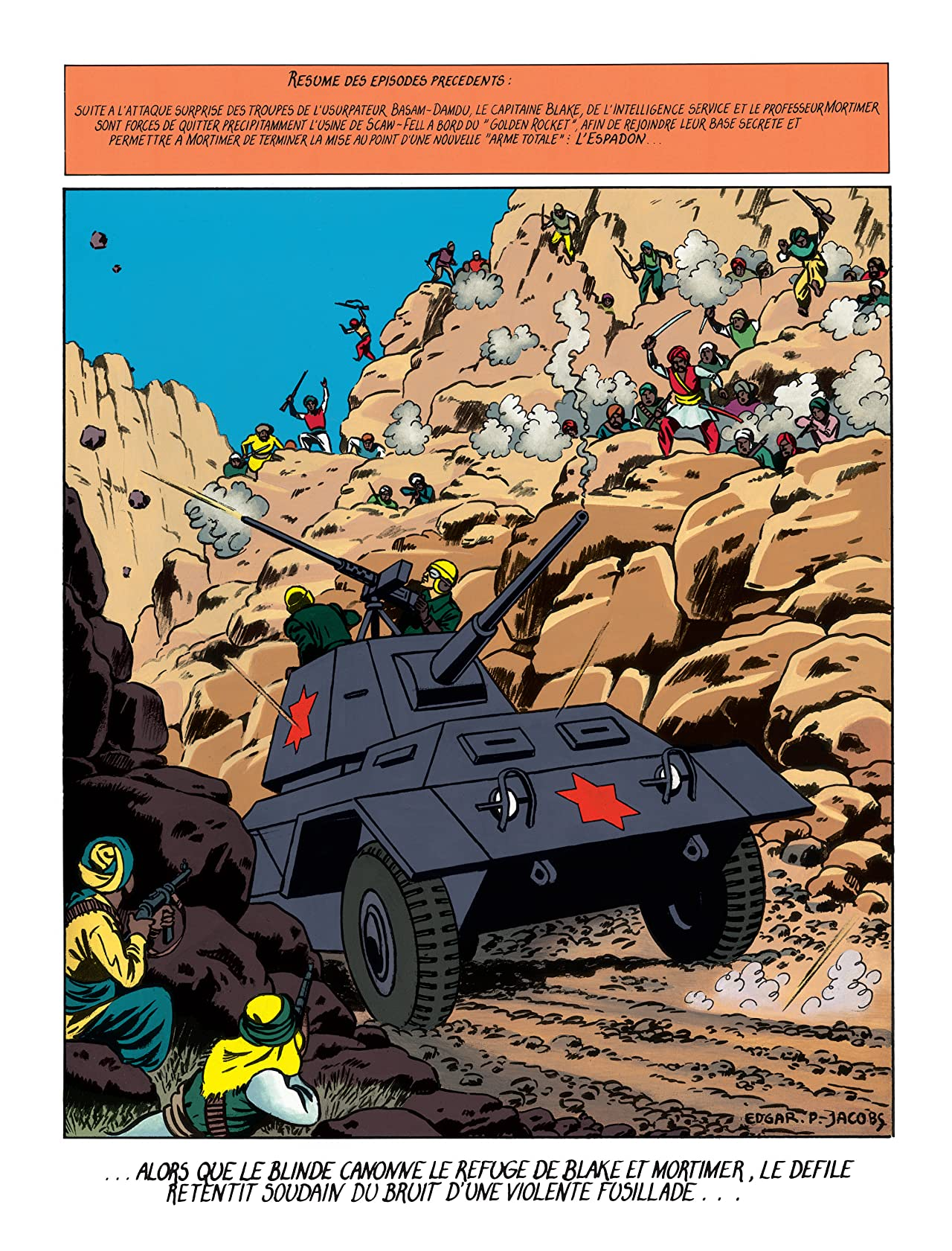 Blake et Mortimer Vol. 3: Secret de l'Espadon T3 (Le)