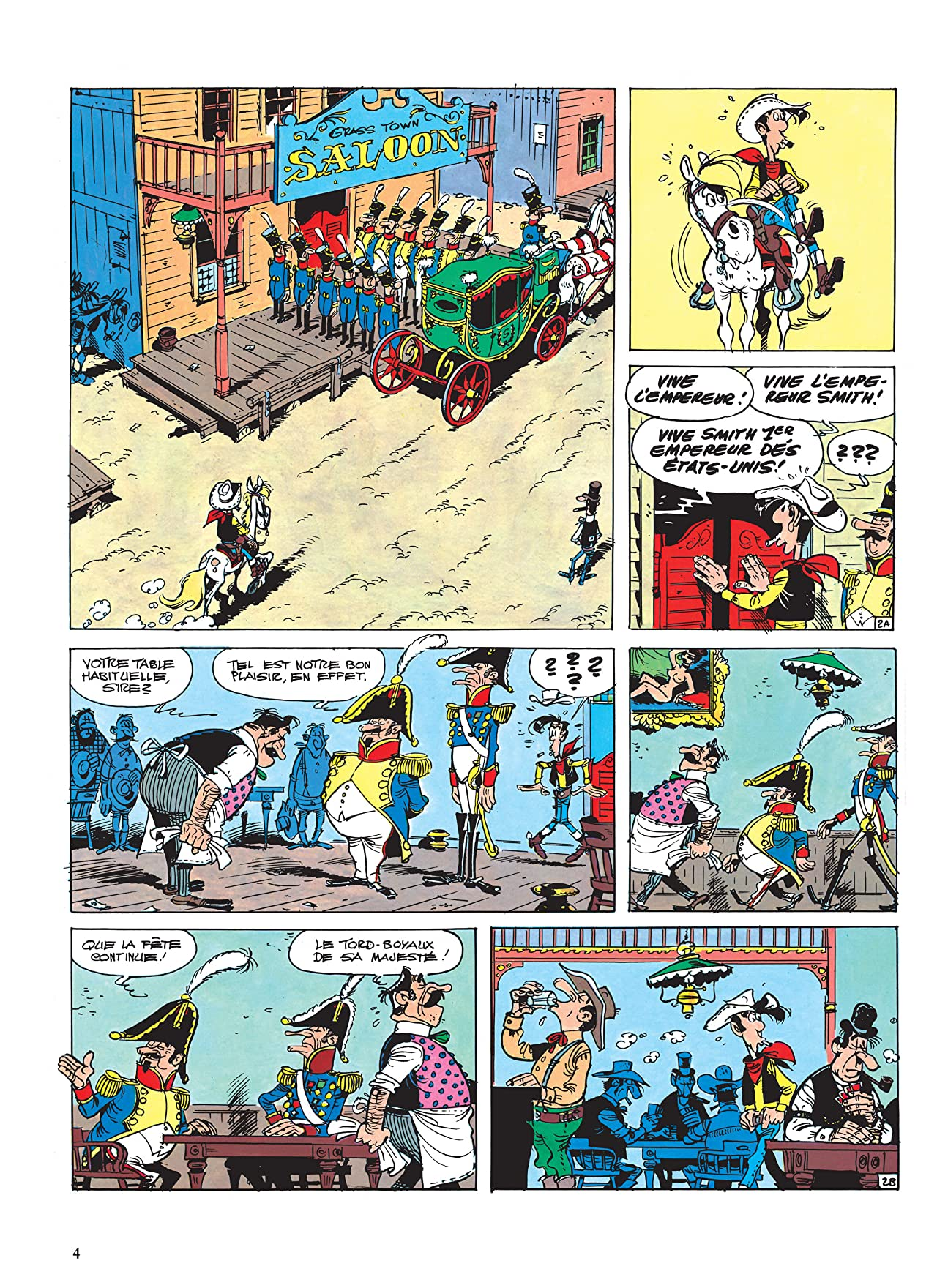 Lucky Luke Vol. 13: L'Empereur Smith