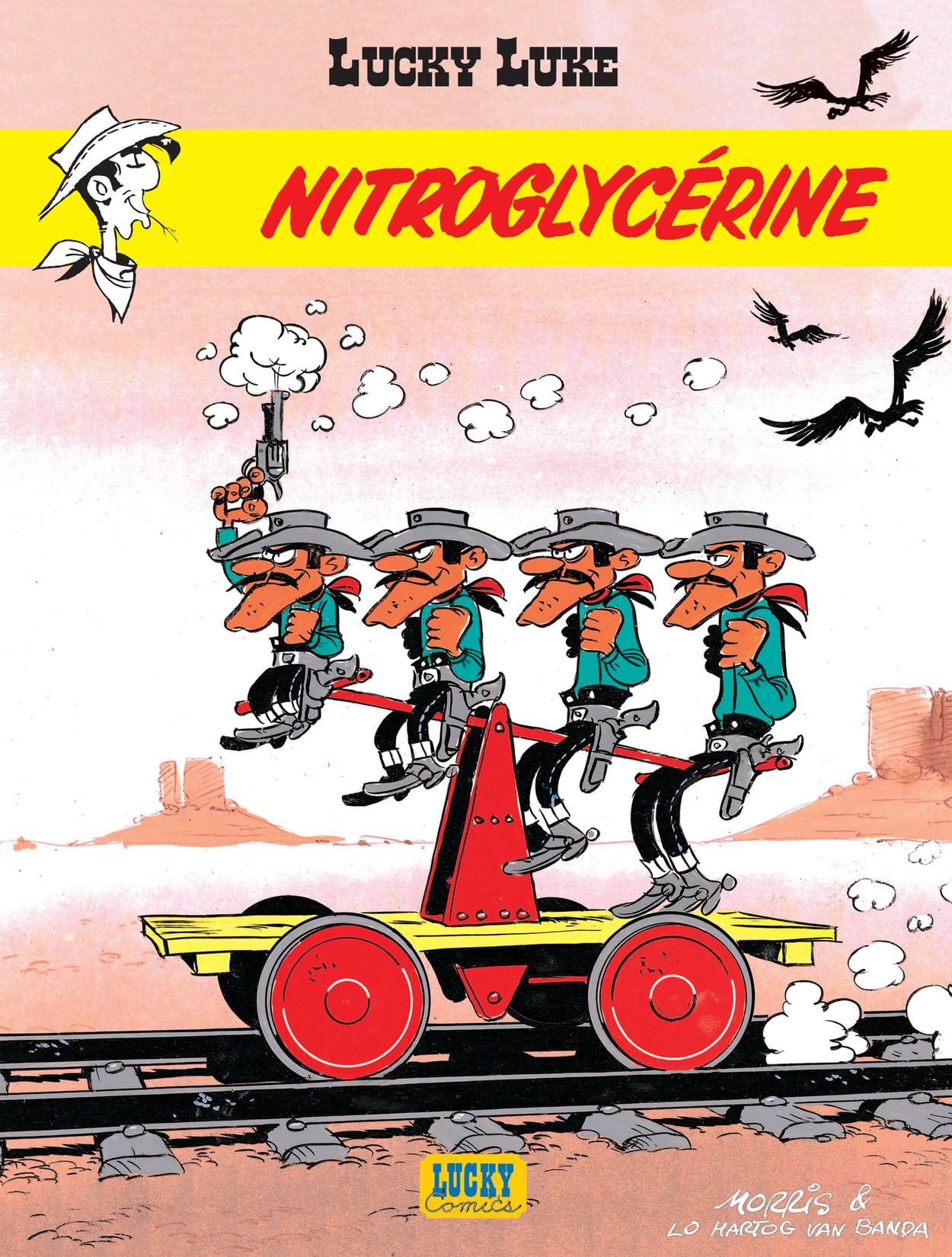 Lucky Luke Vol. 25: Nitroglycérine