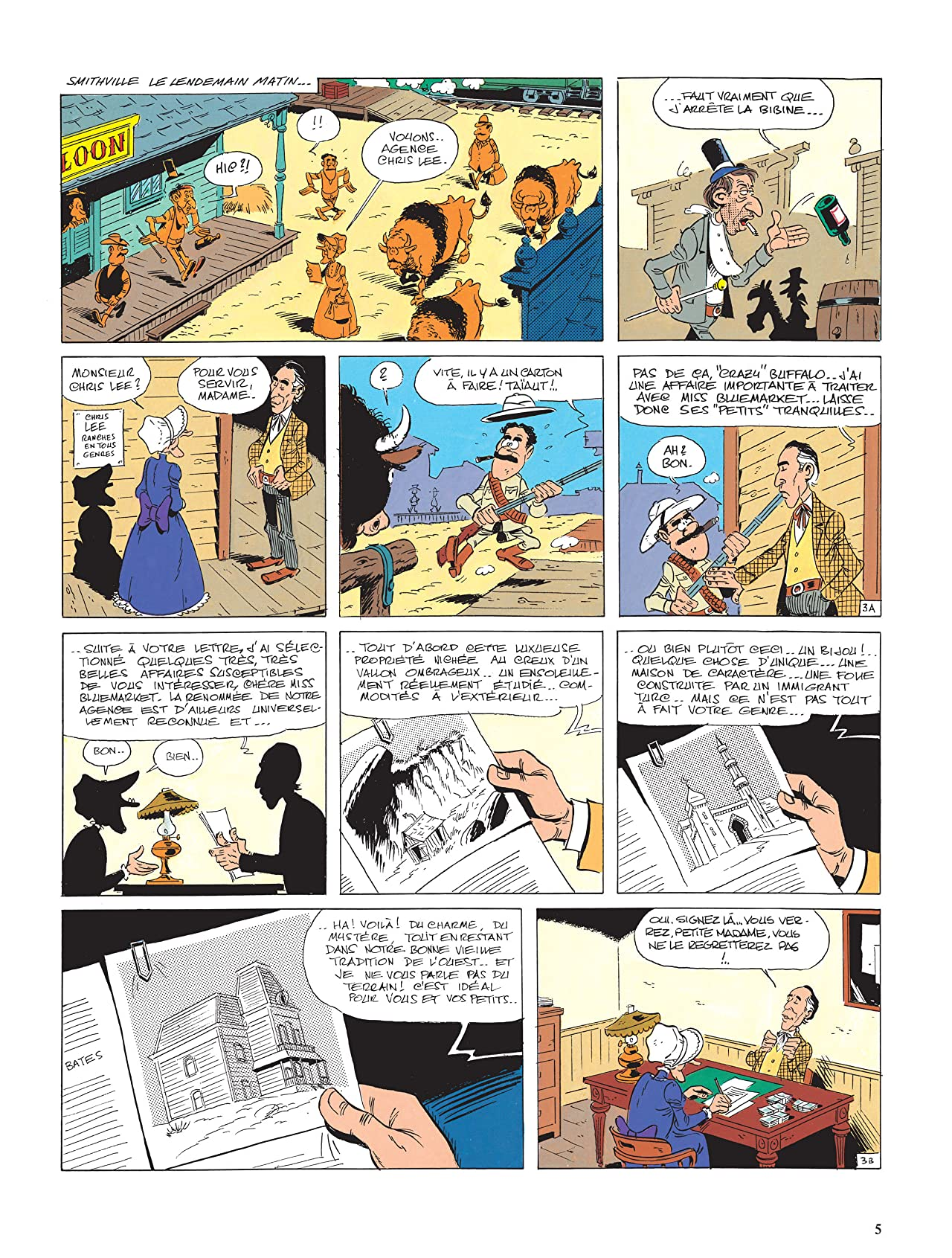 Lucky Luke Vol. 26: Le Ranch maudit