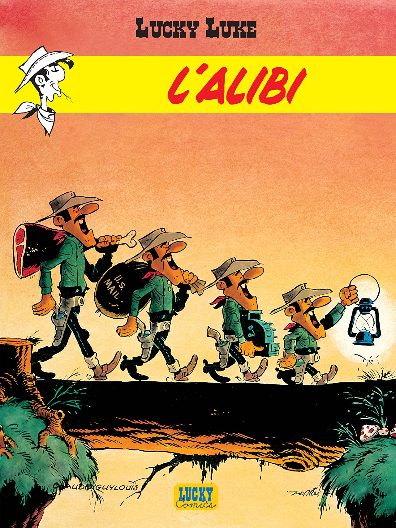 Lucky Luke Vol. 27: L'Alibi