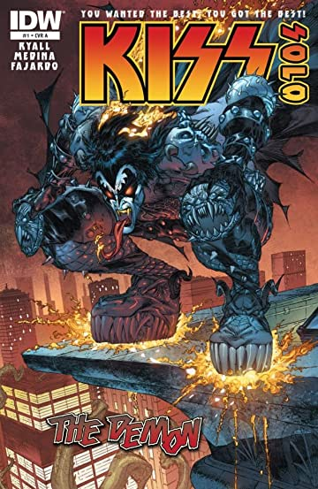 Kiss Solo: The Demon #1 (of 4)