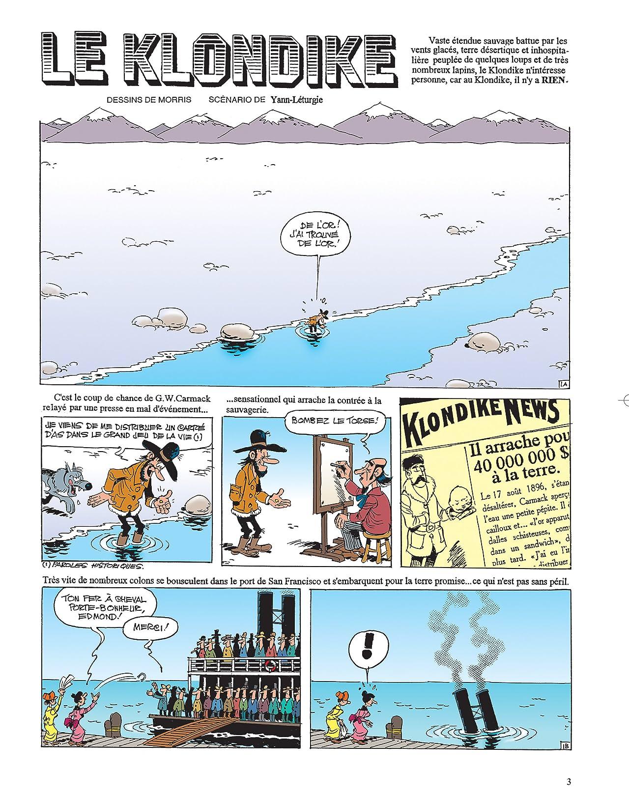 Lucky Luke Vol. 35: Le Klondike