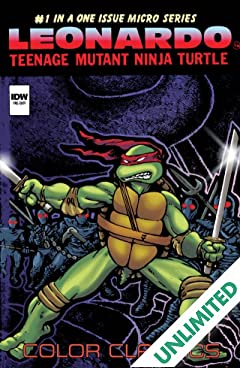 Teenage Mutant Ninja Turtles - Color Classics: Micro Series - Leonardo