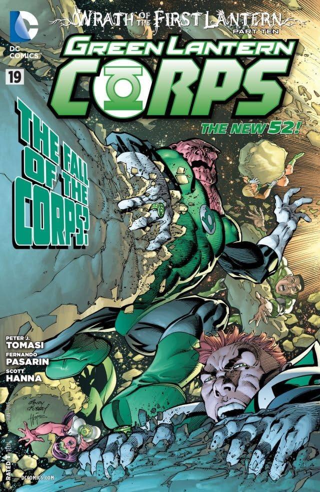 Green Lantern Corps (2011-2015) #19