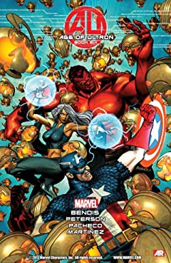Age of Ultron No.6 (sur 10)