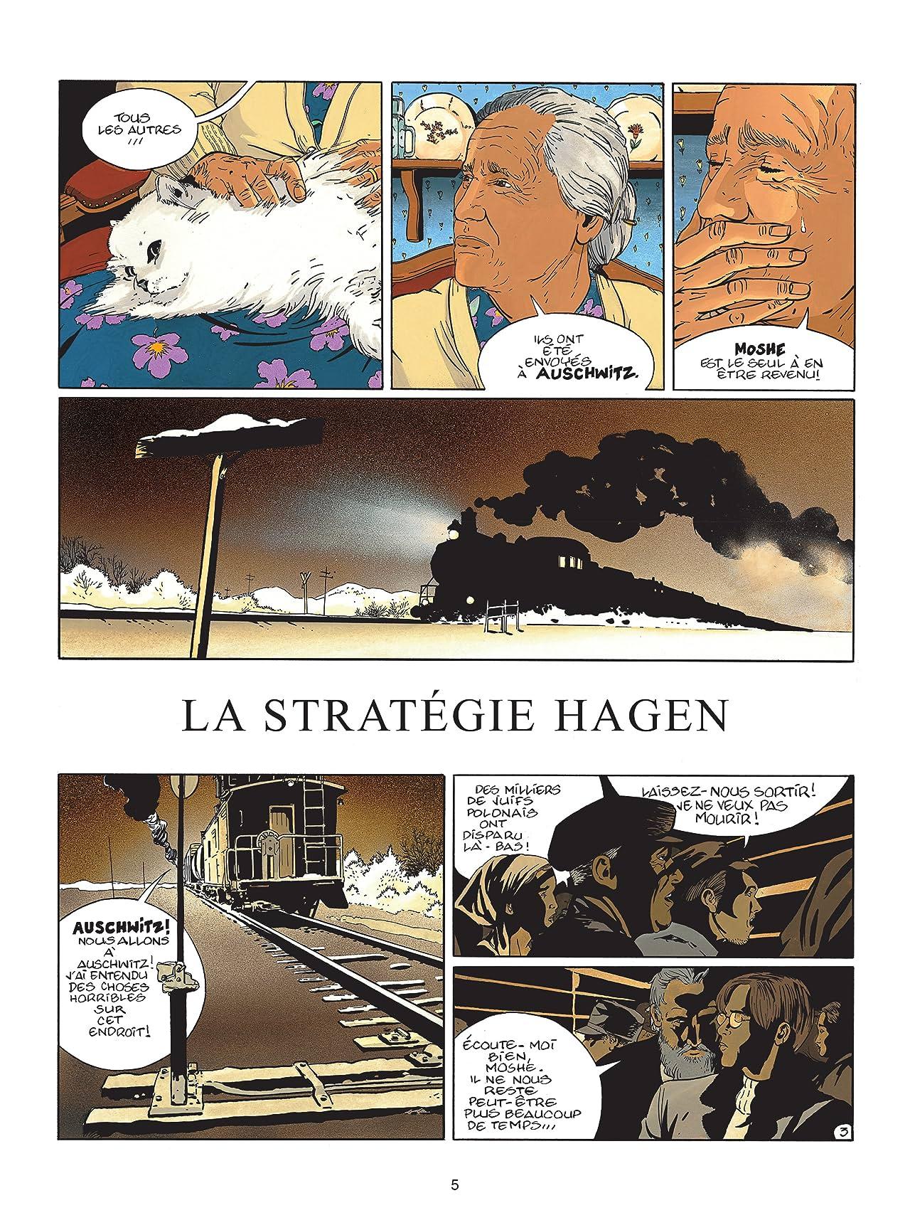 I.R.$. Tome 2: Stratégie Hagen (La)