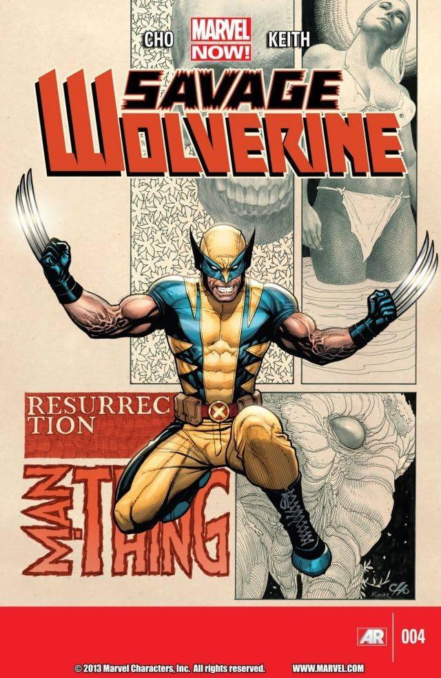 Savage Wolverine #4