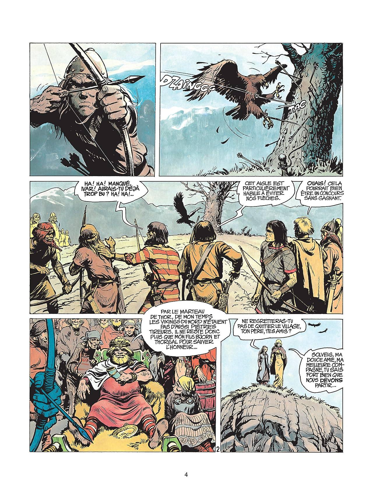 Thorgal Vol. 2: L'ile des mers gelées