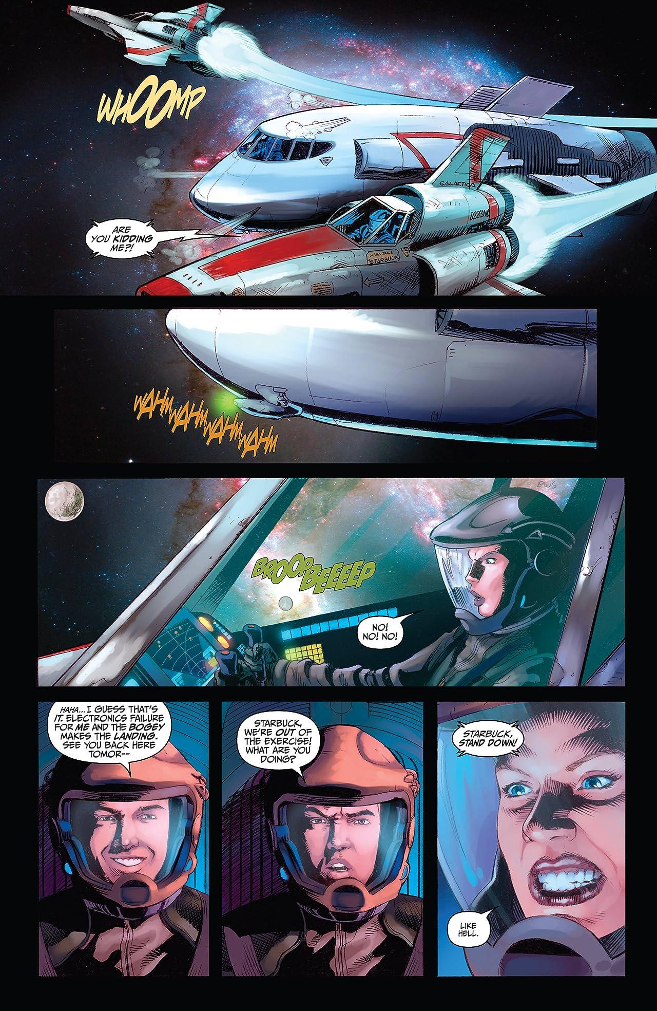 Battlestar Galactica: Season Zero #3