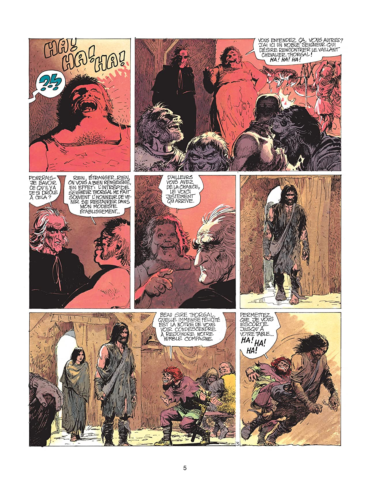 Thorgal Vol. 5: Au-delà des ombres
