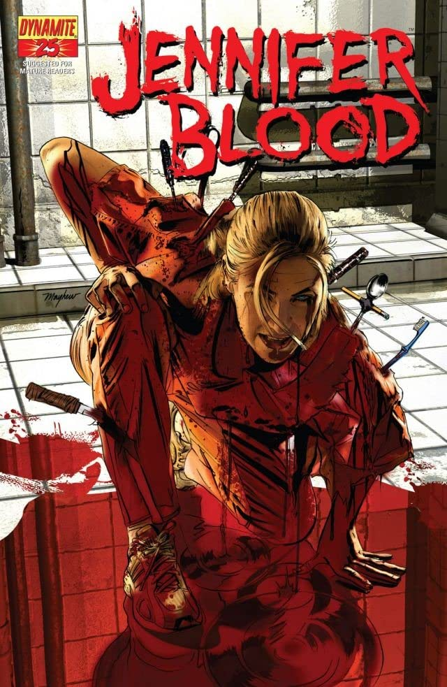 Garth Ennis' Jennifer Blood #25