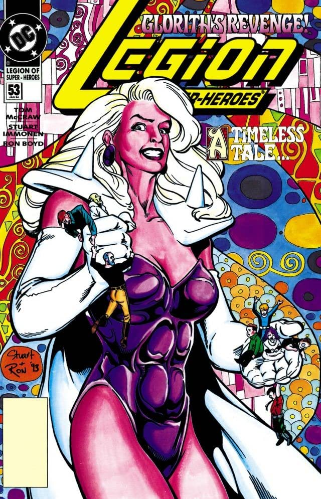 Legion of Super-Heroes (1989-2000) #53