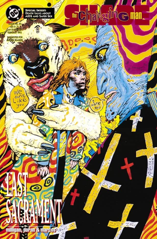 Shade, the Changing Man (1990-1996) #32