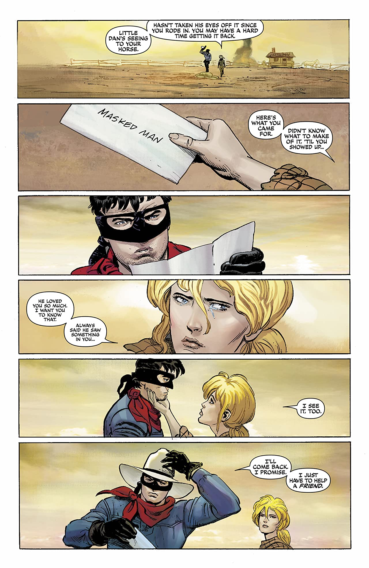 The Lone Ranger #6