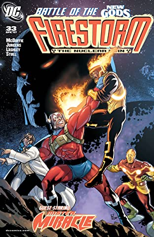 Firestorm: The Nuclear Man (2004-2007) #33